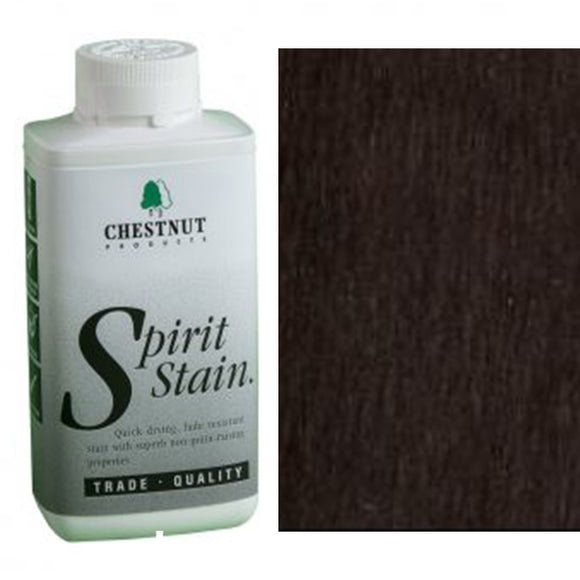 Chestnut Spirit Stains -8 oz. Bottles - Black