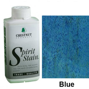 Chestnut Spirit Stains -8 oz. Bottles - Blue