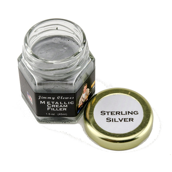 Jimmy Clewes Metallic Cream Filler - Sterling Silver