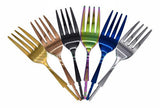 S.S Flatware Set with Spectra TN plating. - WoodWorld of Texas