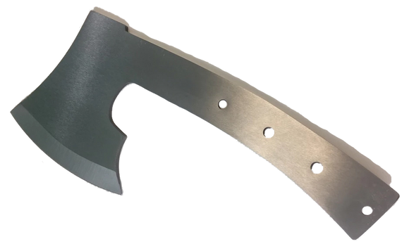 Heavy Duty Full Tang Camp/Throwing Ax - Stainless Steel Blank