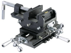 "4"" Cross Sliding Vise w/ Slide Bar"