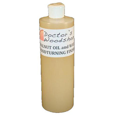 Doctor's Workshop WALNUT OIL and WAX WOODTURNING FINISH 16 oz.