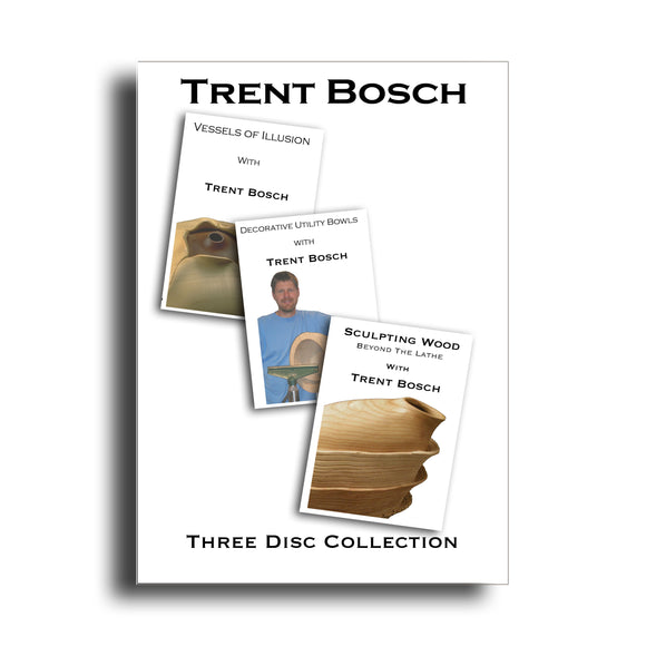 3 DVD Set of Trent Bosch Videos - WoodWorld of Texas