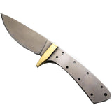 Desert Drop Point Skinner w/ Brass Bolster