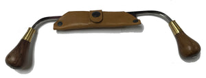 "Draw Knife - Carvers Draw Knife with Teardrop Handles - OAL 12.5"" and Blade 4 7/8"""