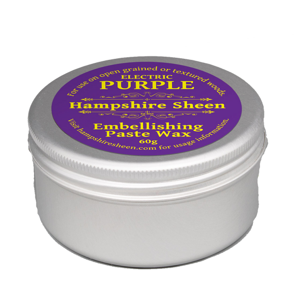 Hampshire Sheen - Embellishing Wax -  Electric Purple - 60 grams / 2.11 ounces