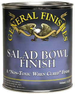 Salad Bowl Finish - General Finishes - Pint- Food Safe