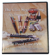 The Gisi Segmenting Technique with Mark Gisi Part 1 & Part 2 - 2 DVD Set