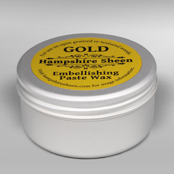 Hampshire Sheen - Embellishing Wax -  Gold - 60 grams / 2.11 ounces