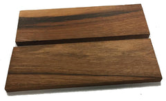 Knife Scales - Wood - Goncalo Alves - pair