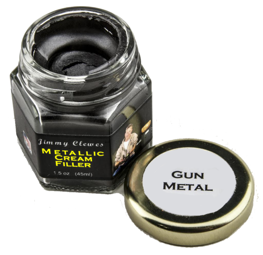 Jimmy Clewes Metallic Cream Filler - Gun Metal