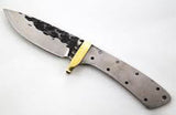 Hammered Desert Drop Point Skinner - WoodWorld of Texas