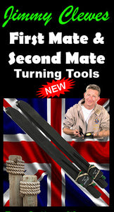 Jimmy Clewes 1'st & 2'nd Mate Hollowing Tools (Handled) by Hunter Tools - WoodWorld of Texas