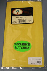 Veneer - Yellow Dyed Veneer pack