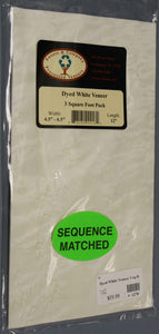 Veneer - White Dyed Veneer pack