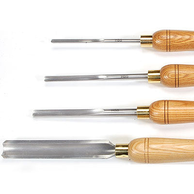 Benjamin's Best Spindle Gouge Set of 4 - WoodWorld of Texas