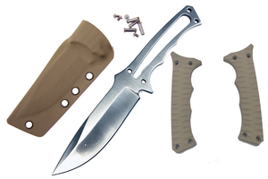 Lone Survivor Military Knife With Sheath & Scales