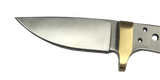 Mohave Drop Point Skinner w/ Brass Bolster