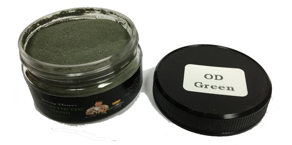 Jimmy Clewes Synthetic Sand - OD Green