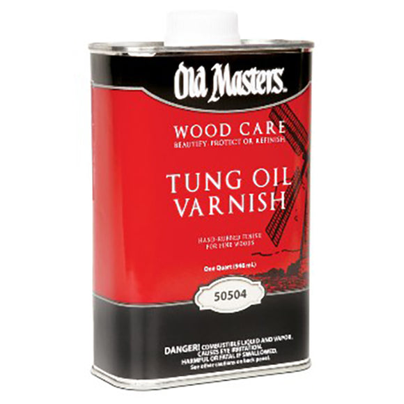 Old Masters Tung Oil Varnish - Quart