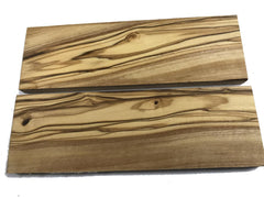 Knife Scales - Wood - Olivewood - pair