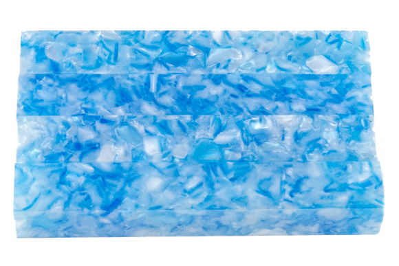 Acrylic Pen Blank - Fractured Glacier