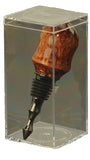 Clear Bottle Stopper Display Box - WoodWorld of Texas