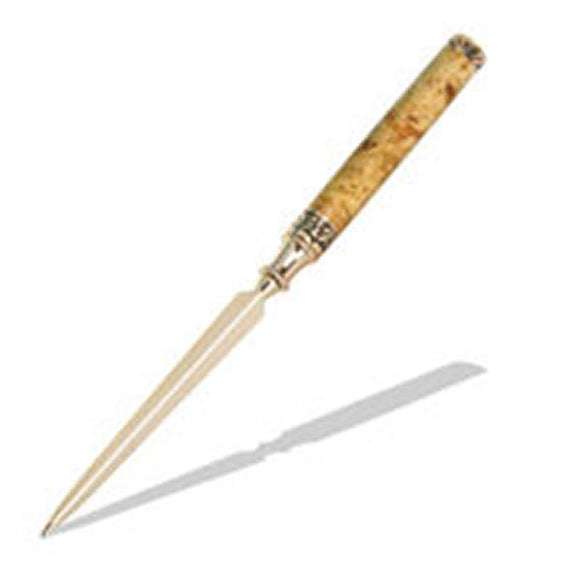 Sculpted Letter Opener - Gold