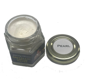 Jimmy Clewes Metallic Cream Filler - Pearl White