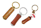 Pill Box Key Chain - WoodWorld of Texas