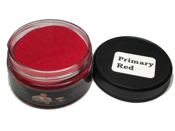 Jimmy Clewes Synthetic Sand - Primary Red