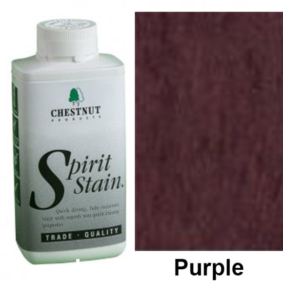 Chestnut Spirit Stains -8 oz. Bottles - Purple