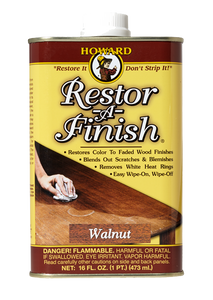 Restore - A - Finish - 16 oz - Natural Wood Colors - Howards