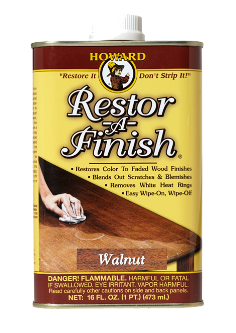 Restore - A - Finish - 16 oz - Walnut - Howards