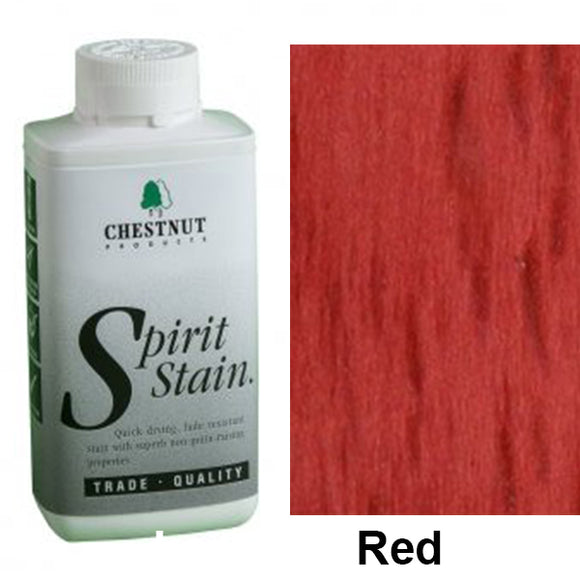 Chestnut Spirit Stains -8 oz. Bottles - Red