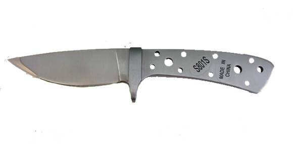 Desert Drop Point Skinner w/ Stainless Bolster - SS