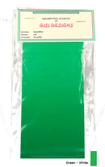 Accent Sheets - Green/White