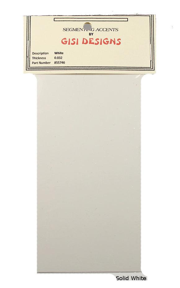 Accent Sheets - White - Solid