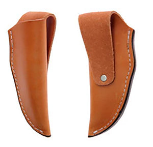 "Knife Sheath Leather - SH340 - 1-1/2"" opening and a 5 1/4"" length."