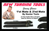Jimmy Clewes 1'st & 2'nd Mate Hollowing Tools (Un-Handled) by Hunter Tools