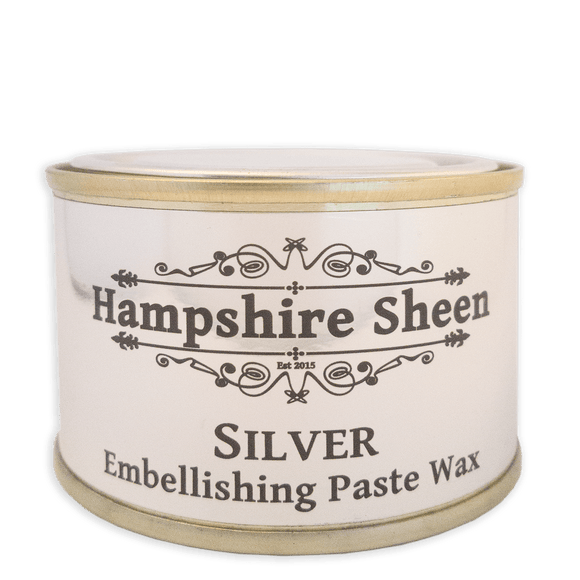 Hampshire Sheen - Embellishing Wax -  Silver - 130 grams / 4.58 ounces