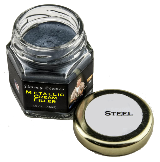 Jimmy Clewes Metallic Cream Filler - Steel