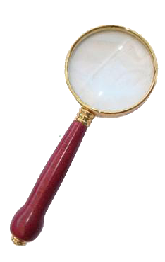 Streamline Magnifier - Gold