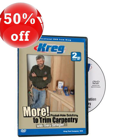 DVD: More Pocket Hole Solutions to Trim Carpentry