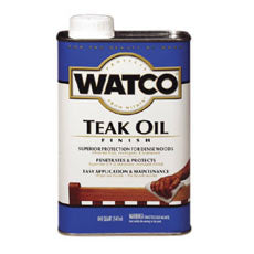 Watco Teak Oil - Quart & Gallon