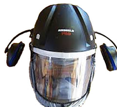 Trend Airshield Pro Face Shield USA 120V w/ Ear Muffs