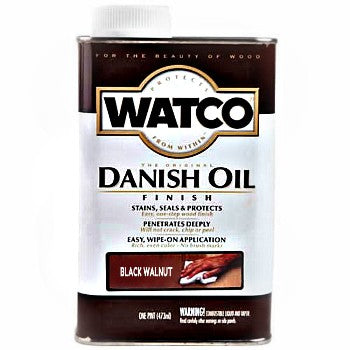 Watco Danish Oil - Gallon - Black Walnut