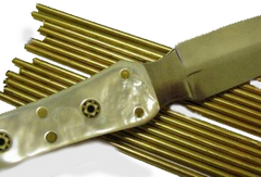 "Pin Material - Brass  Rod 7/32"" x 6"" Long"