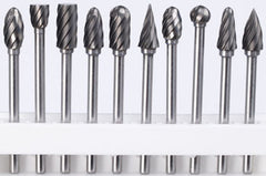 Master Carver 10-PIECE CARBIDE BURR SET